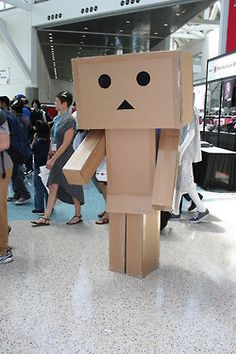 Oh, Danbo. You always look so lost, but we love you for it.