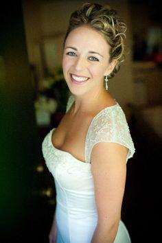 Bridal updo by Angela Rose