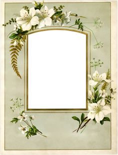 001_arch_top_lilies_frame_graphicsfairy.png 2,510×3,300 pixels