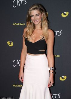 Hitting the road: Australian singer Delta Goodrem has announced her new national headlining tour, Wings of the Wild (Pictured at a CATS event in October)