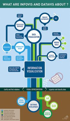 What are Infovis and Datavis about?