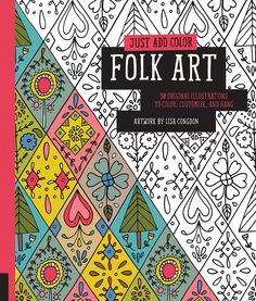 Hey, I found this really awesome Etsy listing at https://www.etsy.com/listing/206392773/folk-art-coloring-book