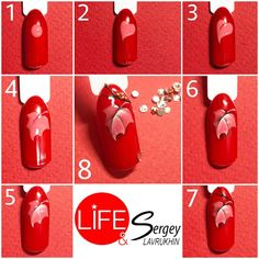 New Fails Art Automne Feuille Ideas Xmas Nail Designs, Creative Nail Designs, Creative Nails, Nail Art Designs, Autumn Nails, Fall Nail Art, Diy Nails, Shellac Nails, Lines On Nails