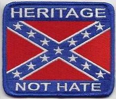 confederate flag heritage not hate | Details about HERITAGE NOT HATE Confederate Quality Biker Vest Patch!