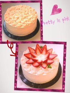 Pretty in pink Pretty In Pink, Cheesecake, Menu, Sweet, Desserts, Food, Cheesecake Cake, Menu Board Design, Tailgate Desserts