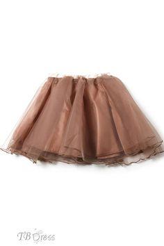 TBdress Design Elegant Fancy Lovely Grenadine Pleated Skirt