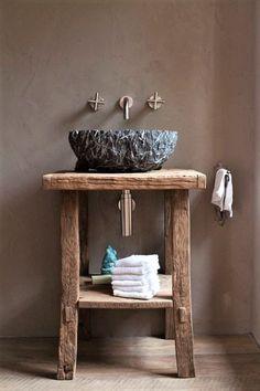 Rustic bathrooms 793548396822880641 - 24 Amazing Rustic Bathroom Vanities Decor Ideas You Should Try at Home Source by ira_stherbin Decor, Diy Bathroom, Bathroom Interior Design, Decor Interior Design, Guest Bathroom, Rustic Bathroom Vanities, Rustic Renovations, Rustic Bathrooms, Rustic House