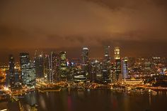 Biz :): Singapur tatili - Marina Bay Sands Seattle Skyline, New York Skyline, Marina Bay Sands, Singapore, Entertaining, Places, Travel, Viajes, Destinations