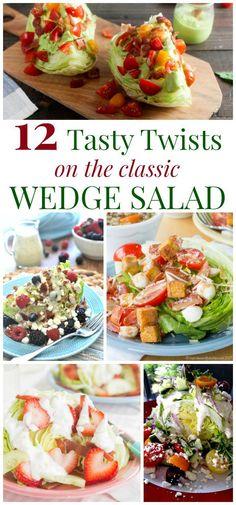 12 Tasty Twists on the Classic Wedge Salad