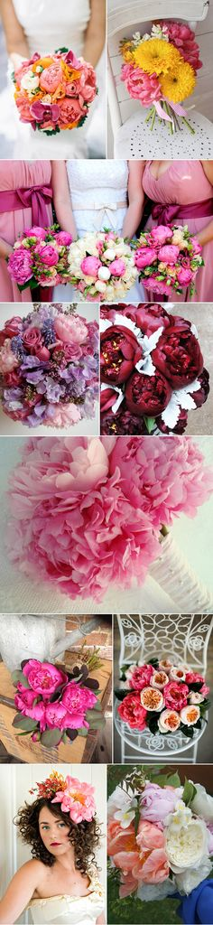 An Ode To Peonies from Polka Dot Bride
