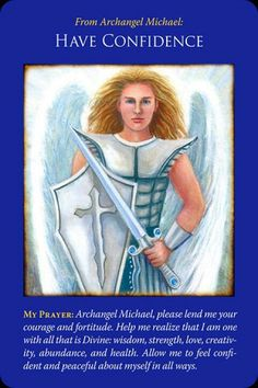 Archangel Michael Angel Cards by Doreen Virtue Doreen Virtue, Angel Guidance, Spiritual Guidance, Spiritual Life, Spiritual Awakening, Angel Protector, Archangel Prayers, Archangel Michael, Michael Angel