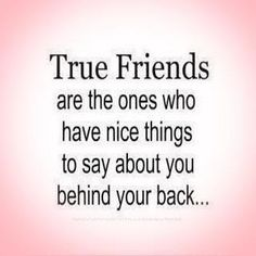 Real friends are hard to find