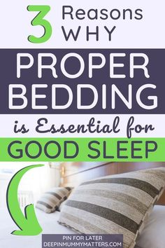 When it comes to getting a good night's rest, it's no secret that having the best bedding for your body is key. Did you know that if you don't have the proper mattress on your bed, you're not going to rest at all? Even though you might feel as though you have the comfiest mattress on Earth, if you're waking up with a sore back or other sore body parts, there's a good chance that the mattress that you're using just isn't working out. Read article for more! #modernmomshome #bedding…