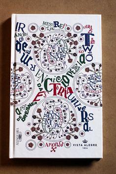 """Short Tales_Front Cover // """"Enciclopédia da História Universal — Arquivos de Dresner""""_Vol III_by Afonso Cruz // Special Edition_1+1=1_by Vista Alegre"""