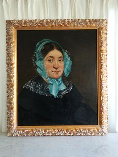 Check out this item in my Etsy shop https://www.etsy.com/listing/532104728/antique-french-oil-portrait-painting-on