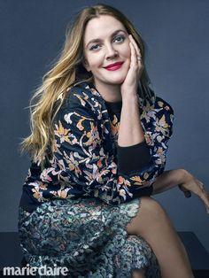 Drew Barrymore is Beautiful on April 2016 Cover of Marie Claire Magazine Santa Clarita Diet, Bikini Pictures, Bikini Photos, Marie Claire Magazine, Drew Barrymore Style, Camila Morrone, Soft Power, Runway Models, Hot Bikini