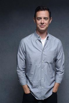 """""""Parkland"""" star Colin Hanks poses at the Guess portrait studio during the Toronto International Film Festival on Sept. 6, 2013."""