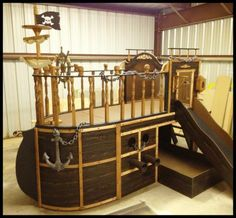 BOYS BEDS - UNIQUE CUSTOM KIDS THEME PLAYHOUSE BEDS - BEST PRICES - BEST OPTIONS