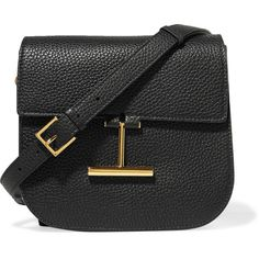 TOM FORD Tara small textured-leather shoulder bag (83.860 RUB) via Polyvore featuring bags, handbags, shoulder bags, black, tom ford purse, shoulder handbags, tom ford, cellphone purse и tom ford handbags