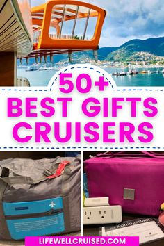 More than 50 awesome gift items for people who love to cruise and travel. From useful travel gadgets to cruise essentials and accessories, this gift guide has it all! #cruise #cruisegifts #cruiseitems #travelinspo #cruising Bahamas Cruise, Cruise Port, Cruise Travel, Cruise Vacation, Packing List For Cruise, Cruise Tips, Caribbean Cruise Ships, Cruise Theme Parties, Cruise Ship Pictures