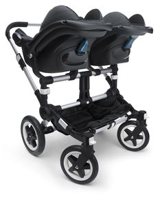 Bugaboo stroller with Maxi-cosi car seat. Just in case