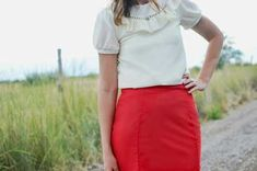 Tutorial: Seamed pencil skirt
