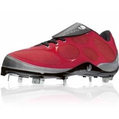 Verdero Classic Baseball Cleats Mens Red Mesh - ONLY $34.99