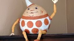 how to make a large paper mache egg - YouTube
