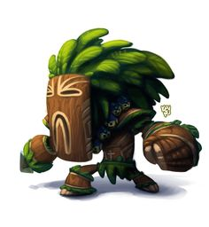 tribal man - more game character ideas