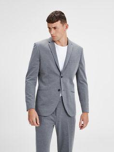 Jack & Jones Sweat- Blazer für 79,99€. Minimalistischer Blazer mit Leistentaschen vorn, Mit schmalem fallendem Revers bei OTTO