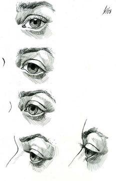 Eye Study - Artist Dark Kenjie