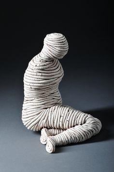 Ferri Farahmandi Ceramics - Gallery 3 Coiled sculptures | ferriceramics.com