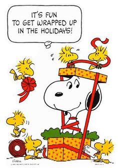 Christmas w/ Snoopy & Friends