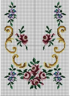 This Pin was discovered by Yas Cross Stitch Pillow, Cross Stitch Heart, Cross Stitch Borders, Cross Stitch Alphabet, Modern Cross Stitch Patterns, Cross Stitch Flowers, Cross Stitch Designs, Cross Stitching, Cross Stitch Embroidery