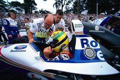 Ayrton SENNA - Williams FW16 Renault RS6 - Rothmans Williams Renault - XXIII Grande Premio do Brasil - 1994 FIA Formula 1 World Championship, round 1