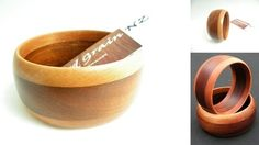 Rimu & Mahogany Wooden Bangle Beautiful hand turned timber bangle made from Rimu and Mahogany with laminated design feature. Semi-gloss finish. Amazing colour. One size fits most.