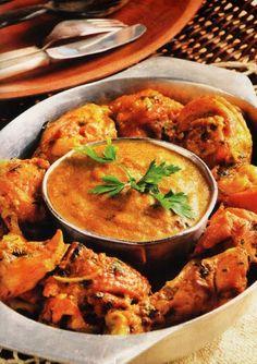 Country-style Chicken with Angu (Frango Caipira com Angu de Fubá)