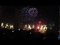 Here is a 20 minute sample about Kuwait awesome firework show which awarded Guinness Record with 77,282 of fireworks at a cost around 15 million USD (4 million KWD) Crazy!