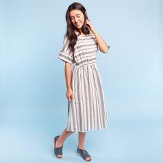 Called to Surf // Rockdale Stripe Dress