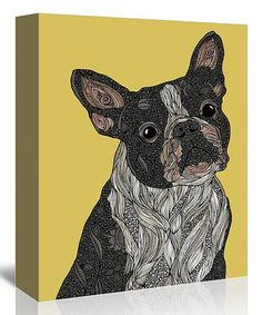Barkysimeto Gallery-Wrapped Canvas #zulily #zulilyfinds