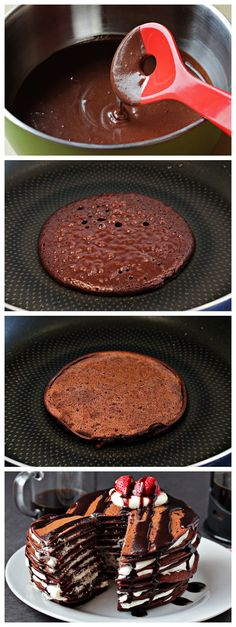 Chocolate Pancake...these were an epic fail with me lol