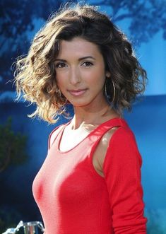 fall hair cuts and color medium hairstyles - mid length loose curls looks great for a fall hairstyle