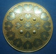 Indian dhal (shield), National Museum, New Delhi India.