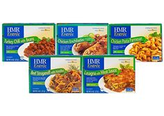 HMR Top 5 Entree Bundle: Chicken Pasta Parmesan Beef Stroganoff with Noodles Chicken Enchiladas with Tomatillo Sauce Lasagna with Meat Sauce Turkey Chili with Beans 8 oz. Gourmet Recipes, Dog Food Recipes, Baked Peppers, Tomatillo Sauce, Lentil Stew, Mushroom Risotto, Vegetable Stew, Turkey Chili, Bean Casserole
