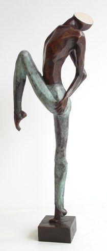 Narcissus  / Bronze Sculpture by Corinna de Jong