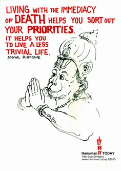 Monday, August 17, 2015  Jai Hanuman! If you'd like, see every day a new drawing of Hanuman from the same artist who drew this drawing at https://www.facebook.com/hanuman.today