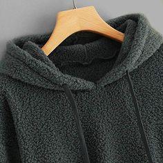 Camicetta di Base Donna Manica Lunga Rcool Collo di Pile Felpe Ragazza Elegante Autunno Inverno Pulsante Maglione Pullover Camicie Casual Tops Felpa