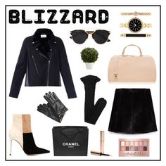 """Winter Blizzard by Anto"" by antojulia ❤ liked on Polyvore featuring Gianvito Rossi, Maison Margiela, Christian Dior, Zara, Yves Saint Laurent, Furla, By Terry, Style & Co., Chanel and Valentino"