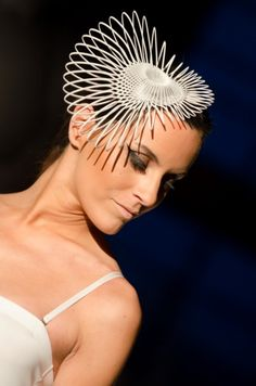 Make a fashion statement with a 3D printed headpiece!