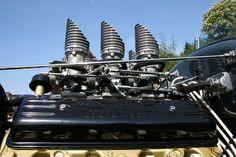 Hot Rod engines | Finned Air Stacks - Oldsmobile Rocket engine | Flickr - Photo Sharing!
